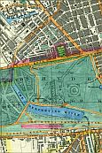 Edgeware Road, Paddington, The Uxbridge Road, Kensington Gardens, Hyde Park, Park Lane, The Site Of The Great Exhibition Of 1851, & Knightsbridge