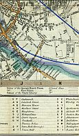 Bermondsey, Walworth, London & Greenwich Railway, Bricklayers Arm Branch Railway, Old Kent Road, & Surrey Square